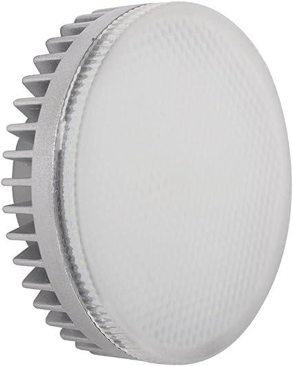 120 gradi angolo LED GX53 lampadine 9W Confezione da 2 unit/à//700 lumen//60 W ad incandescenza bianco caldo 3000 K//Non-dimmer//220 V