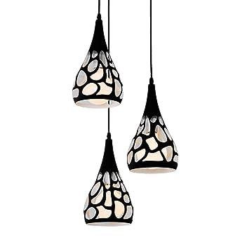 Moderne Créatif Fer Unrege Suspendue Suspension Minimaliste Lampe f7g6vyYb