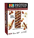 KIND Protein Bars, White Chocolate Cinnamon Almond, Gluten Free, 24 Bars