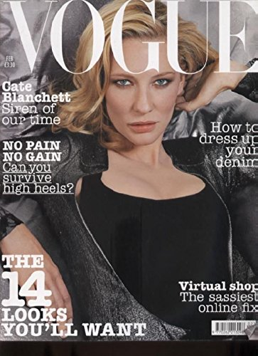 VOGUE MAGAZINE - February 2004 Cate Blanchett Paperback – 1 Jan. 2000