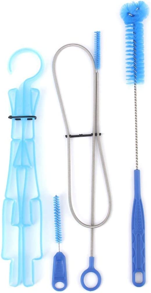 EPRHAY Hydration System Cleaning Brush Kit Hydration Pack Hydration Cleaner Kit Blue