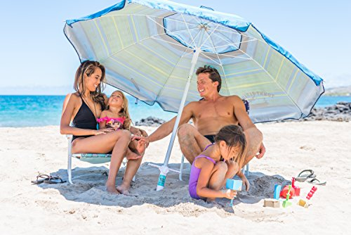 Beach Umbrella Sand Anchor – Universal Fit – Safe, Strong Wind Protection by Beach Titan (Image #1)