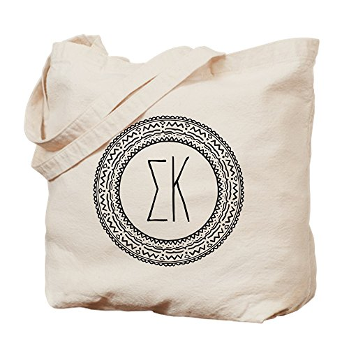 Tote CafePress Canvas Kappa Natural Bag Bag Medallion Shopping Sigma Cloth wqXrHRIX