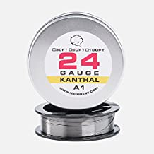 Kanthal A1 Resistance Wire 30ft Lengths - 24 Gauge AWG