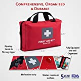 First-Aid-Kit-for-Car-Home-Traveling-Camping-Office-or-Sports-200-pieces-bag-fully-equipped-with-medical-supplies-for-Emergency-and-Survival