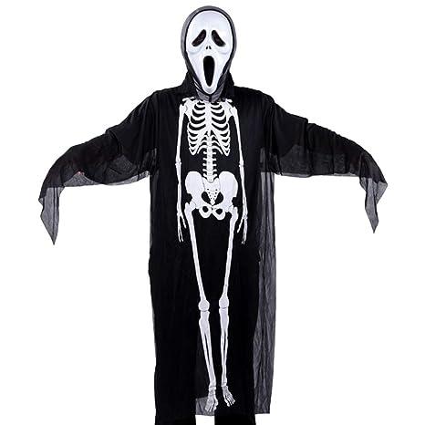 Halloween Cosplay disfraz esqueleto demonio fantasma bruja ...