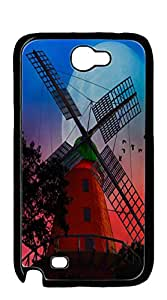 NBcase Red Windmill Hard PC galaxy note2 Shell