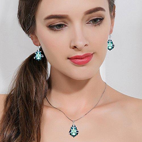 Buy vintage sterling swarovski earrings