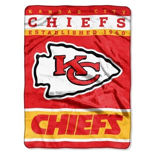 Kansas City Chiefs 60''x80'' Royal Plush Raschel Throw Blanket - 12th Man Design