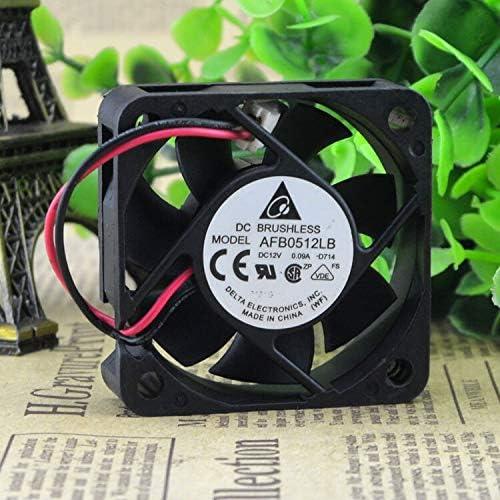 FOR New Delta AFB0512LB-D714 5015 12V 0.09A 5CM Super-silent Cooling Fan