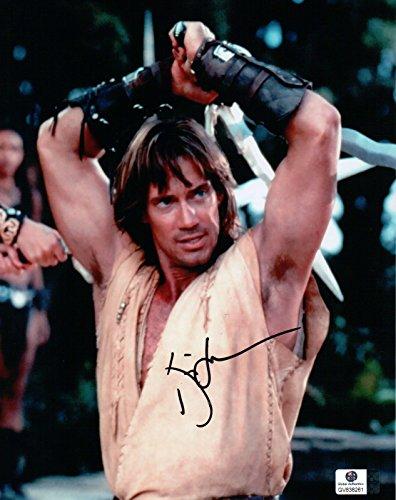 Sorbo Signed Kevin - Kevin Sorbo Signed Autographed 8X10 Photo Hercules Hands over Head GV838261