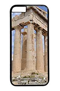 Acropolis Athens Buildings Custom iphone 6 plus 5.5inch Case Cover Polycarbonate black