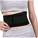 Adjustable Spontaneous Self Heating Magnetic Therapy Waist Belt Far Infrared Spontaneous Belly Fat Burning Belt for Abdominal Muscle & Back Lumbar Supporter Stomach Body Wrap