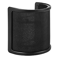 PEMOTech Black Mic Windscreen is designed for 45 mm to 68 mm diameter handheld mics. It is more effective in protecting your mics against wind interference, breathe sounds, popping noises, singers' spit or other harmful dust and moisture, kee...