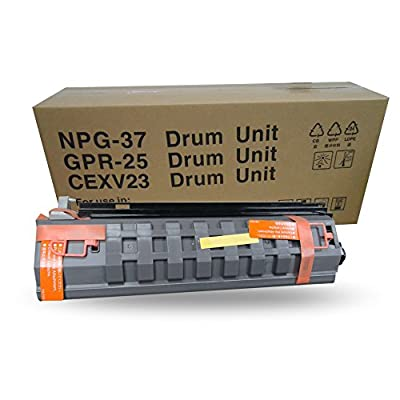 Aotusi Compatible Drum Unit Replacement for Canon GPR 25 NPG 37 CEXV 23 for use in Canon Copier IR 2018 2022 2025 2030