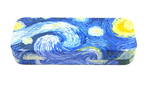 DAHO Mega Tin Pencil / Storage Box with World Famous Arts (Starry Night)