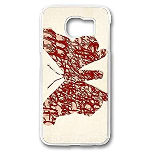 Samsung S6 Case, Galaxy S6 Case, Crystal Clear Anti-Scratch Hard Case Bumper for Samsung Galaxy S6 Breaking Bad Characters Heisenberg Protagonists Perfect Fit Clear Hard Back Case for Samsung Galaxy S6