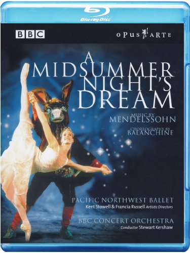 Mendelssohn: A Midsummer Night's Dream [Blu-ray]