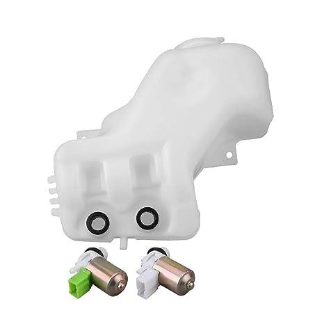 Botella de limpiador de limpiaparabrisas, 2 orificios Limpiaparabrisas Limpiaparabrisas Botella Bomba Tanque Depósito de limpieza