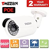 Cheap TMEZON 1/3″ 1.3MP Megapixel 960p Onvif 3.6mm Real HD Metal IP Camera IR Cut Indoor / Outdoor POE Power Over Ethernet