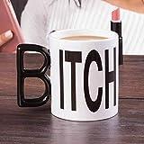 THUMBS UP Itch Mug, 12 x 9.5 x 8 cm, White