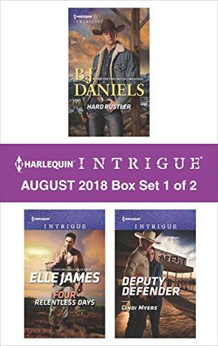 Harlequin Intrigue September 2018 - Box Set 1 of 2: Hard Rustler\Four Relentless Days\Deputy Defender