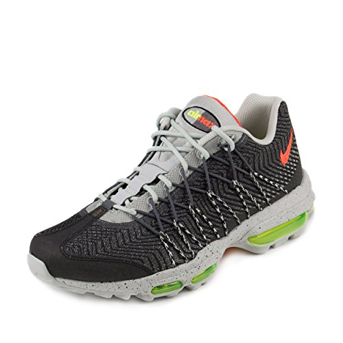 23ceed648a nike air max 95 ultra JCRD mens trainers 749771 sneakers shoes (us 12 ,  night silver bright crimson volt 006) - Buy Online in UAE.