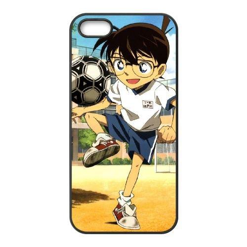 O4Q51 Detective Conan D6P8PH coque iPhone 4 4s cellulaire cas de téléphone couvercle coque noire RY6HCC7BM