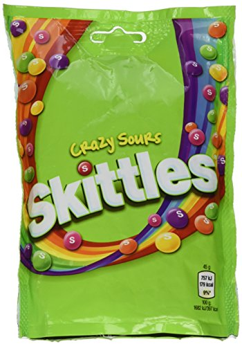 Original Skittles Crazy Sours Pouch Great Value Imported From The UK England