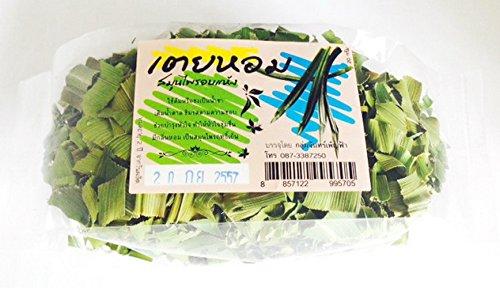 [1 Pack SCREW PINE SCREWPINE PANDANUS THAI Dried Herbal Leaves Fragrant PANDAN HEALTHY DRINK 1x20 Grams by mewinshop] (Singaporean Costume Kids)