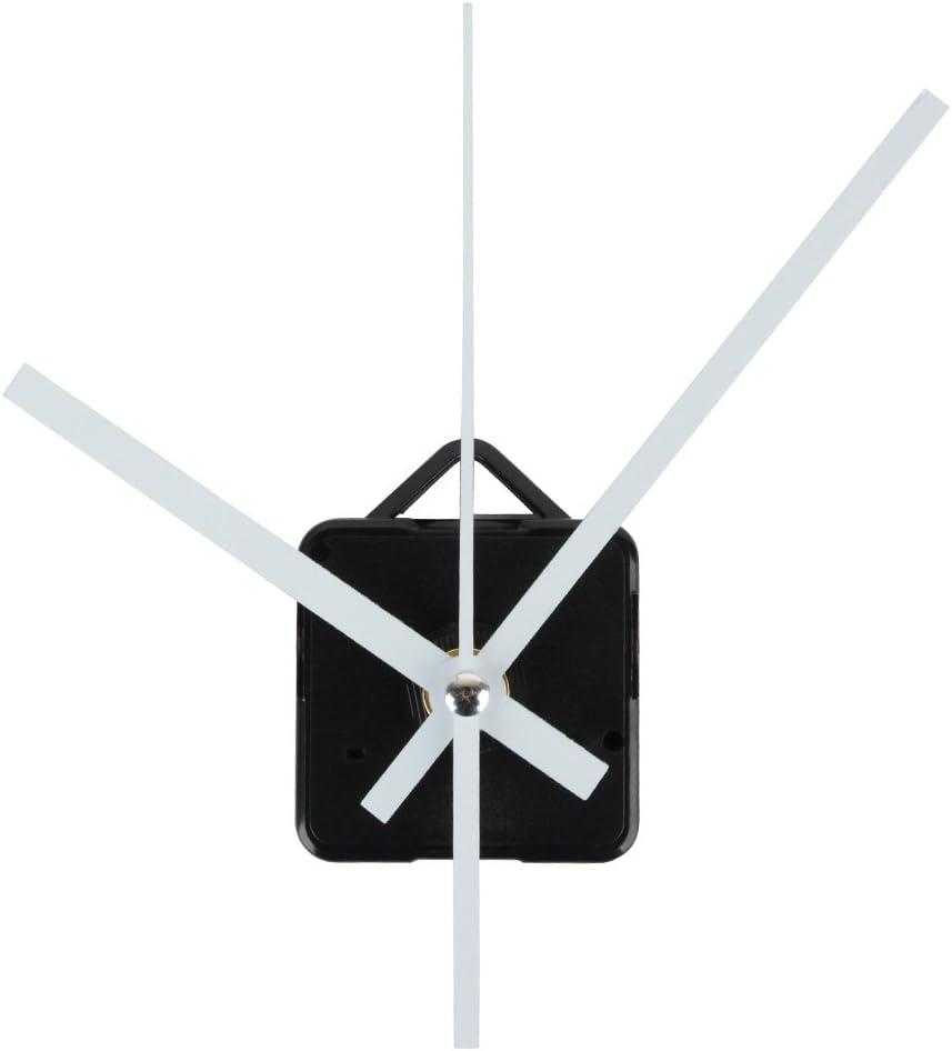 Mecanismo Agujas Reloj Pared DIY Decoración Hogar (Blanco): Amazon ...