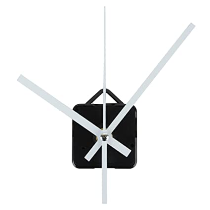 FunnyToday365 Mayitr Quartz Clock Movement Quartz Wall Clock Movement Mechanism Diy Repair Parts Long Shaft White