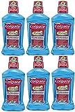 Colgate Total Advanced Pro-Shield Mouthwash, Peppermint, 16.9 fl oz (Pack of 6)