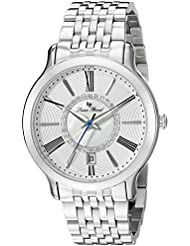 Lucien Piccard Womens LP-40004-22S Sofia Analog Display Quartz Silver Watch