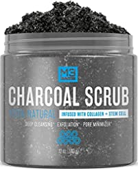 M3 Naturals Activated Charcoal Scrub Inf...