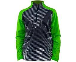 Boys Bugcentric Dry WEB T-Neck (Black/Neon Green)