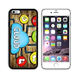 Luxlady Apple iPhone 6 Plus iPhone 6S Plus Aluminum Backplate Bumper Snap iphone6plus/6splus Case IMAGE ID: 34402076 Aerial View of People and Cloud Computing Concepts