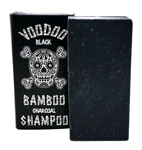 Voodoo Bamboo Charcoal Shampoo Bar From Australia with Organic Leatherwood Honey 100% Natural (Secret Key Honey Bee)