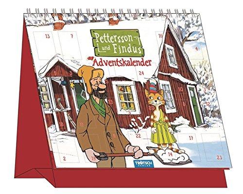 Adventskalender Pettersson und Findus: Mit 24 Türchen auf dem Cover Spiralbindung – Adventskalender, 1. September 2016 Trötsch Verlag Troetsch 3957743923 empfohlenes Alter: ab 3 Jahre
