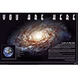 "You Are Here - Educational Poster / Print (Earth In The Milky Way / Space) (Size: 36"" x 24"")"