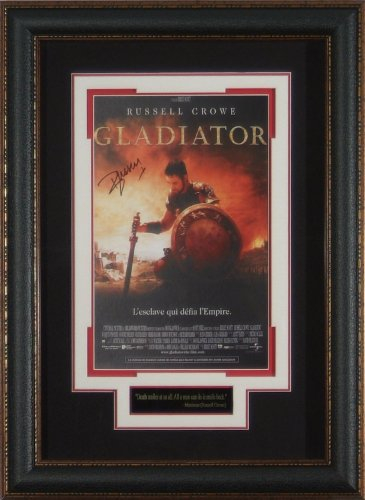 Gladiator Russell Crowe Signed Framed Movie Poster