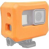 Zhuhaixmy Flotabilidad Flotante Caja - Floaty Cubrir Boya Anti Lavabo Case Encuadrar para GoPro Hero 7 / Hero 6 / Hero 5 Acción Cámara