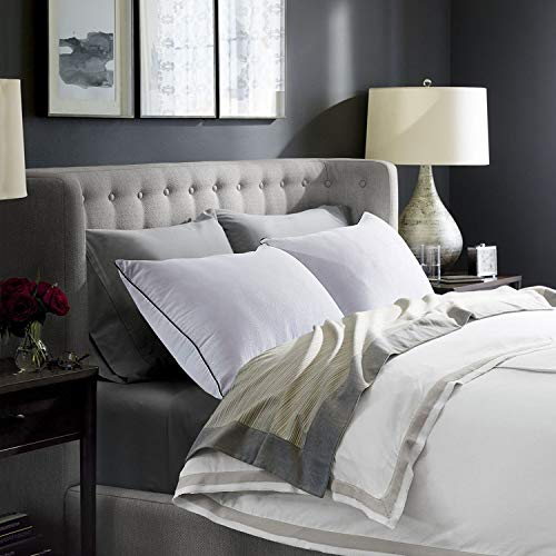 2 for Sleeping-Hypoallergenic for Side Hotel Down Sleeping with Super Soft Fiber Fill-Queen Size