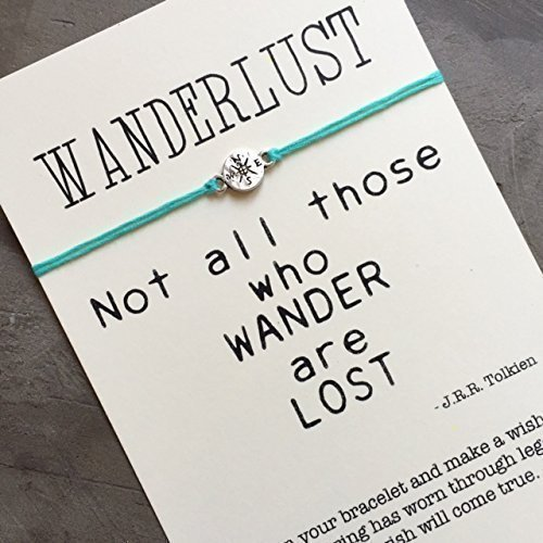 Wanderlust jewelry, Friendship bracelet, compass bracelet, Wanderlust bracelet, Traveller, Best friend bracelet, traveller gift, A55