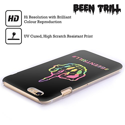 Official Been Trill Middle Finger Colourful Prints Hard Back Case for Apple iPhone 5c