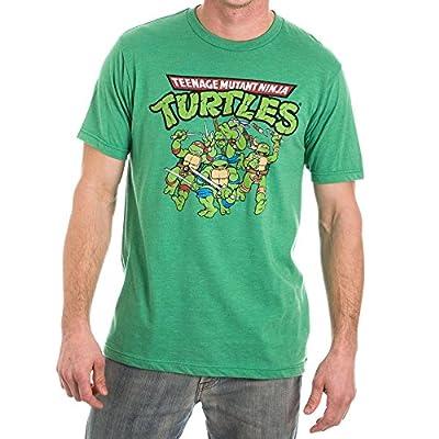 Teenage Mutant Ninja Turtles TMNT Men's Green T-Shirt Tee Shirt