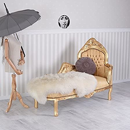 Recamiere Chaiselongue palazzo24 de royal recamiere chaise longue gold rococo sofa amazon
