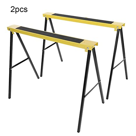 Fabulous Saw Horse Work Bench 2 Pack Portable Folding Legs Beatyapartments Chair Design Images Beatyapartmentscom