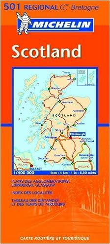 Mapa Regional Scotland (Carte regionali): Amazon.es: Michelin Travel Publications, Pneu Michelin: Libros