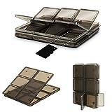 Foldable 12 Slot SIM/Micro SD/TF Memory Card Storage Case Box Holder Protector